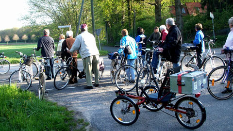 "Foto 7 – Radtour ""Vor Tau und Tag"""