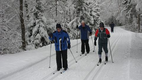 Foto 4 – Der Verkehrsverein im winterlichen Tannheimer Tal