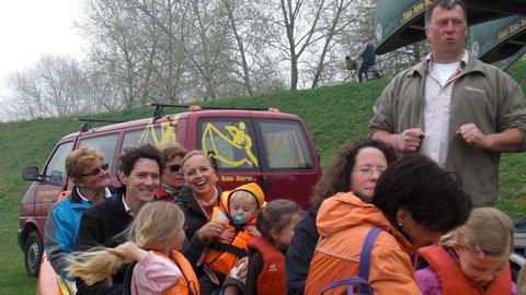 Foto 3 – Emmaus-Fahrt – mit dem Kanu auf der Lippe