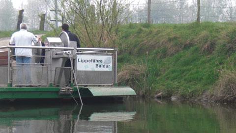 Foto 7 – Emmaus-Fahrt – mit dem Kanu auf der Lippe