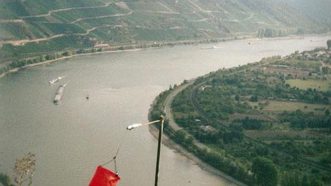 Foto 4 – Fahrt an den Rhein