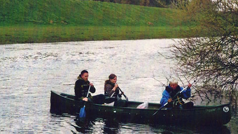 Foto 2 – Mit dem Kanu auf der Lippe – mit den eigenen Rädern zurück
