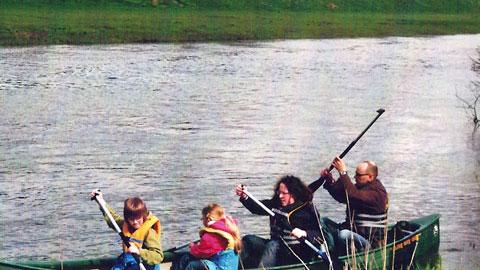 Foto 3 – Mit dem Kanu auf der Lippe – mit den eigenen Rädern zurück