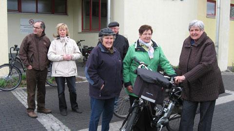 Foto 1 – Besuch des Hofes Belustedde in Haltern-Lippramsdorf