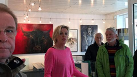 Foto 1 – Kunsttour – Kunstwerke im öffentlichen Raum