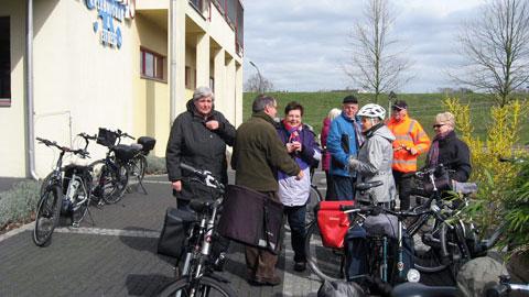 Foto 1 – Besinnliche Tour zum Bauerncafé der Familie Belustedde in Lippramsdorf