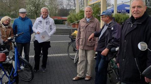 Foto 1 – Radtour zu den Außenstationen des Lippeverbandes auf Dorstener Gebiet