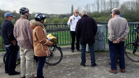 Foto 2 – Radtour zu den Außenstationen des Lippeverbandes auf Dorstener Gebiet