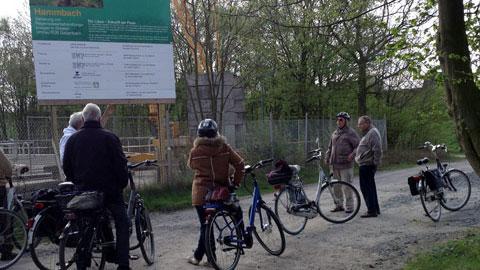 Foto 3 – Radtour zu den Außenstationen des Lippeverbandes auf Dorstener Gebiet
