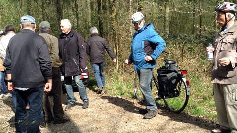 Foto 4 – Radtour zu den Außenstationen des Lippeverbandes auf Dorstener Gebiet