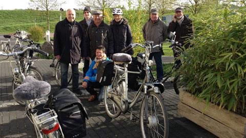 Foto 1 – Radtour mit Besichtigung des Dorstener Wasserwerkes