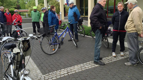 Foto 1 – Radtour zum Köhler in Haltern-Flaesheim und zum Dachsberg in der nördlichen Haard