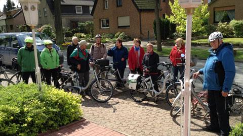 Foto 2 – Radtour zum Köhler in Haltern-Flaesheim und zum Dachsberg in der nördlichen Haard