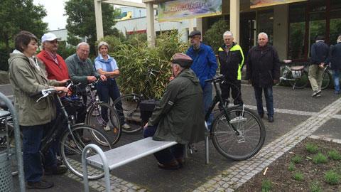 Foto 2 – Geführte Radtour durch Hervest-Dorsten mit dem Dorstener Bergbauverein