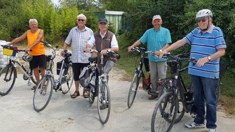 Foto 1 – Geführte Radtour mit Werksbesichtigung des Euroquarz-Werkes auf dem Hardtberg