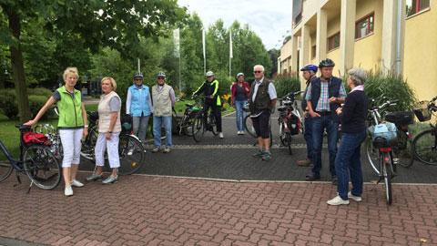 Foto 1 – Radtour Richtung Drevenack, Krudenburg und Schloss Gartrop