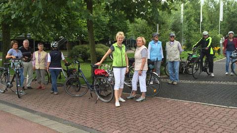 Foto 2 – Radtour Richtung Drevenack, Krudenburg und Schloss Gartrop