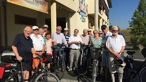 """Foto 1 – Radtour zum Thema """"Rund um die Energie in Dorsten"""""""