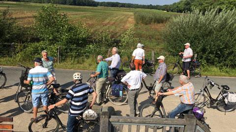 """Foto 2 – Radtour zum Thema """"Rund um die Energie in Dorsten"""""""