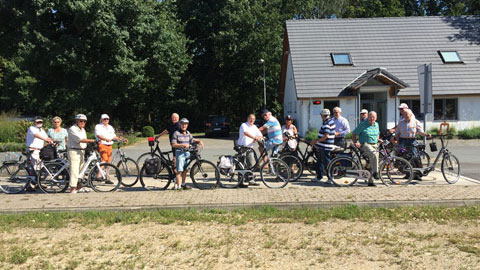 """Foto 5 – Radtour zum Thema """"Rund um die Energie in Dorsten"""""""