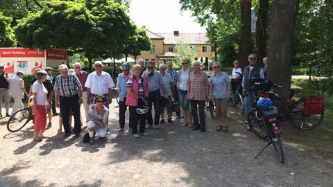 Foto 1 – Radtour zum Deutschen Mühlentag