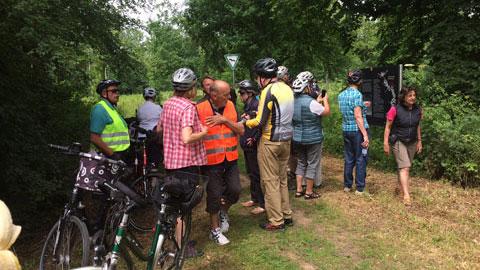 Foto 4 – Radtour auf dem historischen Gahlenschen Kohleweg von Dorsten bis Hattingen