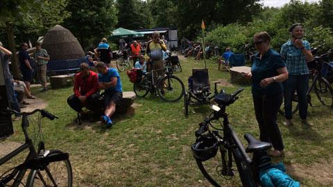 Foto 6 – Radtour auf dem historischen Gahlenschen Kohleweg von Dorsten bis Hattingen
