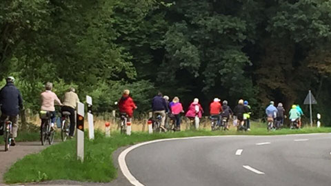 Foto 1 – Radtour zum Landhotel Voshövel in Voshövel / Marienthal