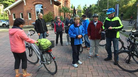 Foto 3 – Kombinierten Rad- und Bahntour von Dorsten nach Coesfeld am Tag des offenen Denkmals