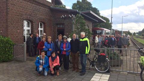 Foto 4 – Kombinierten Rad- und Bahntour von Dorsten nach Coesfeld am Tag des offenen Denkmals
