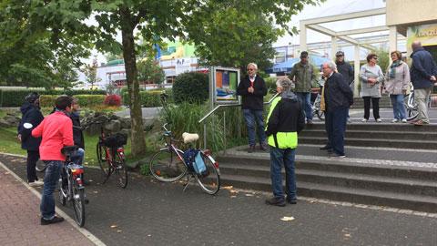 Foto 1 – Radtour mit Besichtigung technischer Betriebe in Dorsten