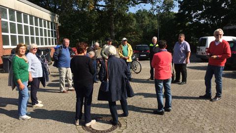Foto 7 – Radtour mit Besichtigung technischer Betriebe in Dorsten