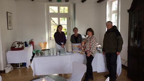 Foto 2 – Rathaus Café anlässlich des Dorstener Lichterfestes