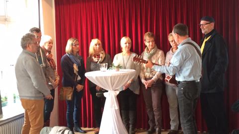 Foto 6 – Rathaus Café anlässlich des Dorstener Lichterfestes
