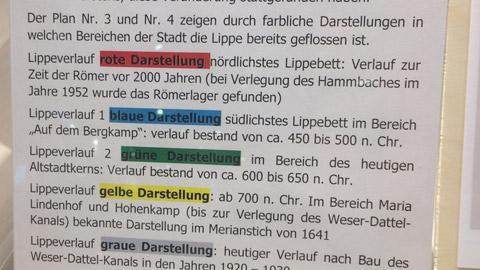 """Foto 2 – Radtour zum Tag der Hanse """"auf den Spuren des alten Lippeverlaufes"""""""