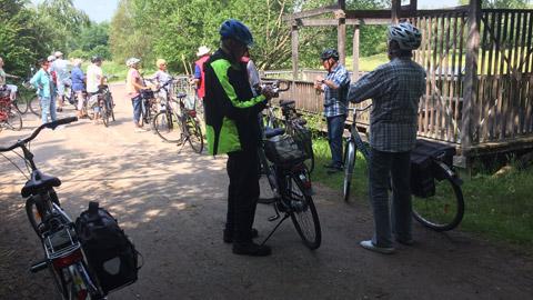 Foto 1 – Radtour mit Besichtigung des Metallwerkes Franz Kleinken GmbH in Wulfen