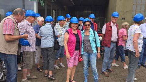 Foto 3 – Radtour mit Besichtigung des Metallwerkes Franz Kleinken GmbH in Wulfen