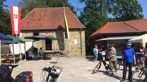 Foto 3 – Radtour zum deutschlandweiten Mühlentag am Pfingstmontag