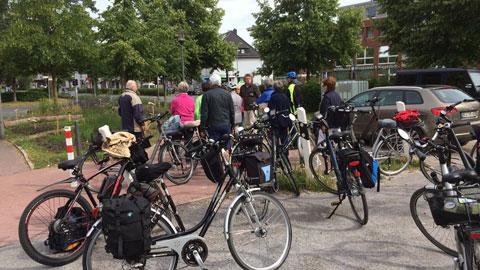 """Foto 3 – Radtour zum Thema """"Biologische Vielfalt (Biodiversität) in Dorsten"""""""