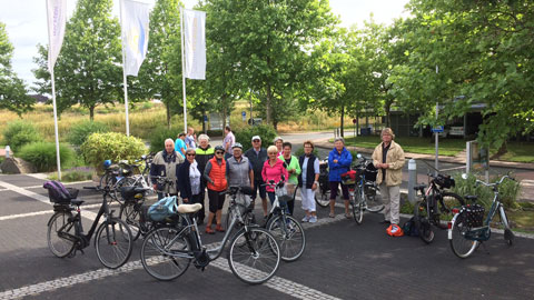 """Foto 6 – Radtour zum Thema """"Biologische Vielfalt (Biodiversität) in Dorsten"""""""