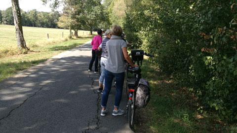 Foto 7 – Radtour zum Café Lühlerheide auf dem Gelände der ev. Stiftung Lühlerheim