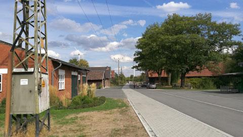 Foto 8 – Radtour zum Café Lühlerheide auf dem Gelände der ev. Stiftung Lühlerheim