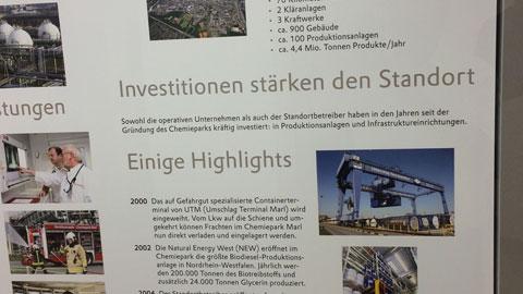 Foto 3 – Besuch des Chemiepark Marl (Evonik, Infracor)