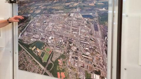 Foto 4 – Besuch des Chemiepark Marl (Evonik, Infracor)