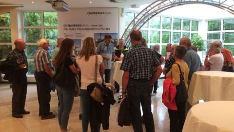 Foto 7 – Besuch des Chemiepark Marl (Evonik, Infracor)