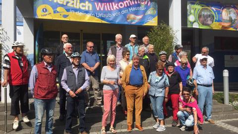 Foto 1 – Radtour nach Erle mit Besuch der Brennerei Böckenhoff