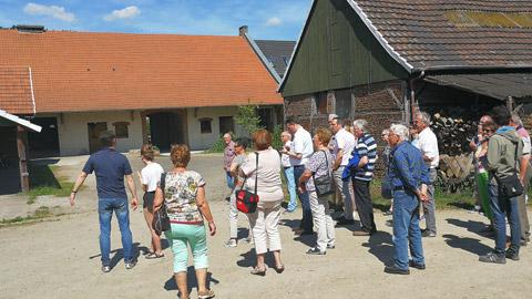 Foto 7 – Radtour nach Raesfeld – mit den Bürgermeistern Tobias Stockhoff, Andreas Grotendorst und der Regierungspräsidentin Dorothea Feller