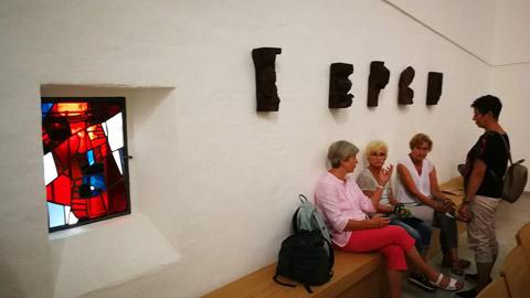 """Foto 4 – Radtour mit Petra Eißing zum Thema """"Kunst im öffentlichen Raum"""""""