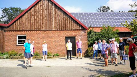 Foto 2 – Besuch des Hofes Wübbelt in der Bauernschaft Orthöve