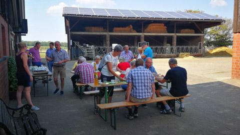 Foto 6 – Besuch des Hofes Wübbelt in der Bauernschaft Orthöve